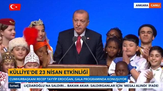 Cumhurbaşkanı Erdoğan'ın göz yaşlarını tutamadı