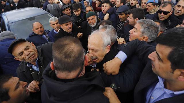 Kılıçdaroğlu'na yumruk atan kişi savcılığa sevk edildi