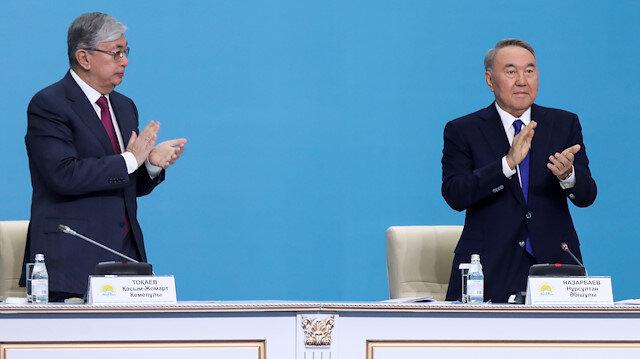 Kazakhstan's Nazarbayev backs Tokayev for president