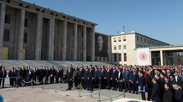 Turkey celebrates 99th anniversary of first parliament