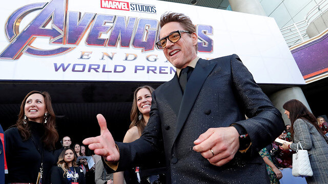 Hollywood celebrates the finale of the 'Avengers' movies