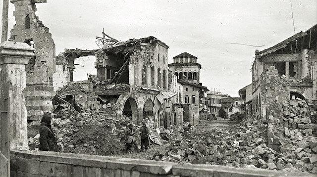 Fransızlar, 4 Kasım 1919 tarihinde işgal ettiği Gaziantep'te tarihte eşine az rastlanır bir soykırıma imza attı.