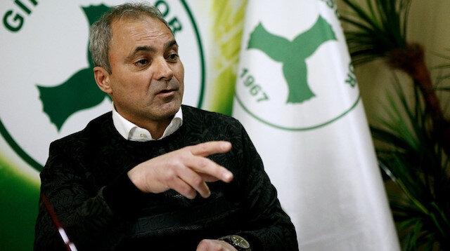 Giresunspor'un yeni teknik direktörü Erkan Sözeri oldu