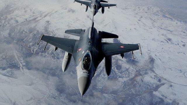 Irak'ın kuzeyindeki PKK'ya hava harekatı