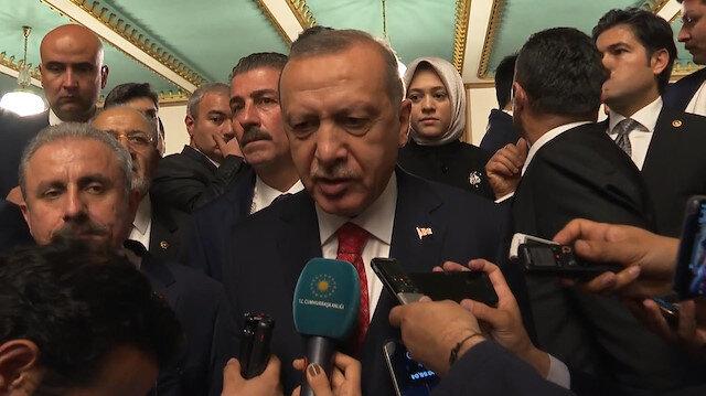 Cumhurbaşkanı Erdoğan: Nihai kararı bekleyeceğiz