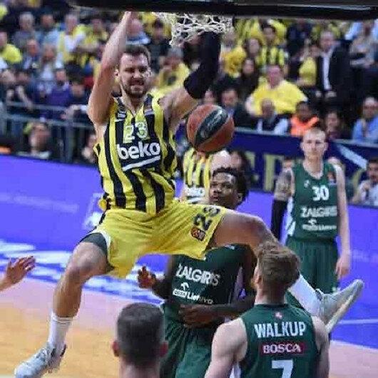 EuroLeague: Fenerbahce Beko take lead against Zalgiris