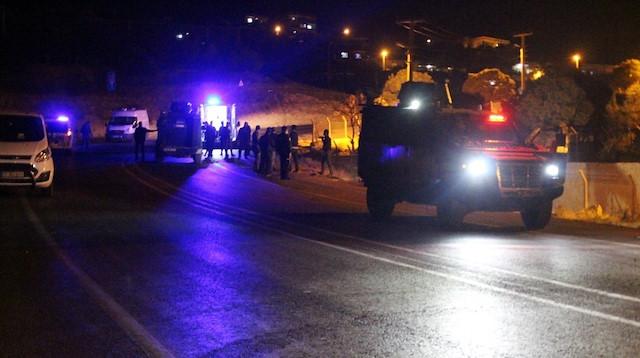 Mardin'de yola tuzaklanan bomba infilak etti