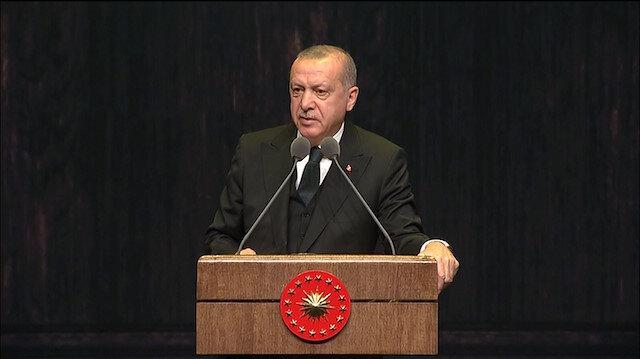 Cumhurbaşkanı Erdoğan'dan 'Osmanlı Türkçesi' vurgusu