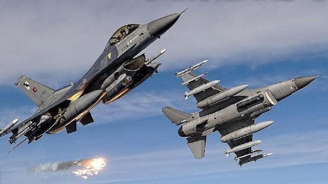 مقاتلات تركية تدمر أهدافًا إرهابية شمال العراق