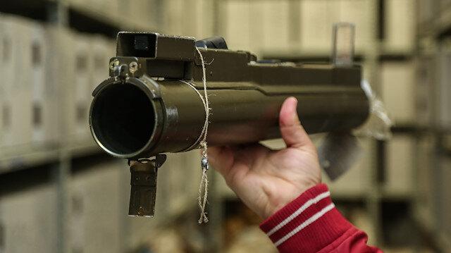 İlker Başbuğ'un 'boru parçası' dediği lav silahı.