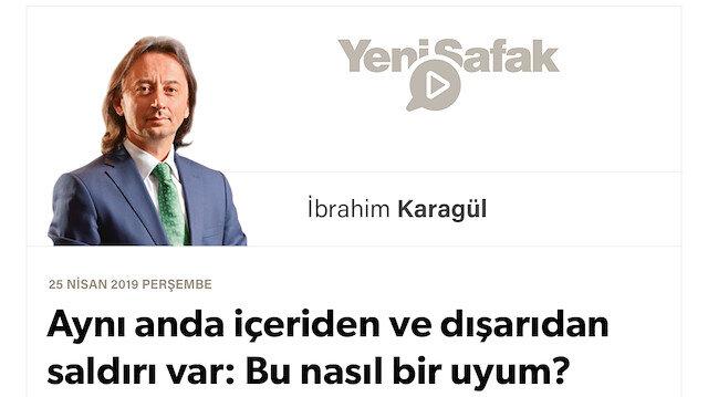 """* Aynı anda içeriden ve dışarıdan saldırı var: Bu nasıl bir uyum? * Erdoğan'ı hedef al, Türkiye'yi vur, müdahalenin yolunu aç.. * Her ülke kendi tarihî iddialarına dönerken bize """"dur"""" diyen kim?"""