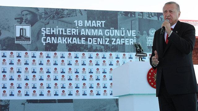 Cumhurbaşkanı Erdoğan.