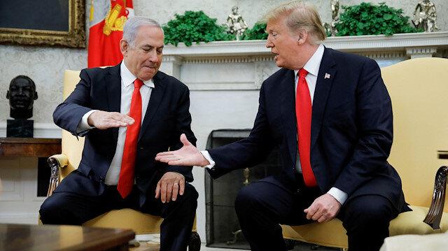 Trump, 21 Mart'ta da Golan'da İsrail egemenliğini tanıdığını duyurmuştu.