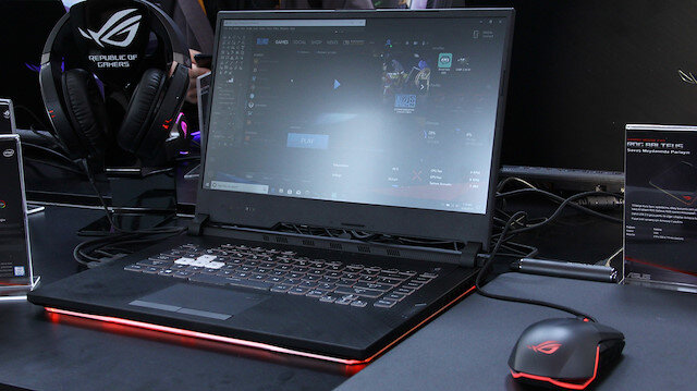 ASUS ROG serisinden bir oyuncu bilgisayarı