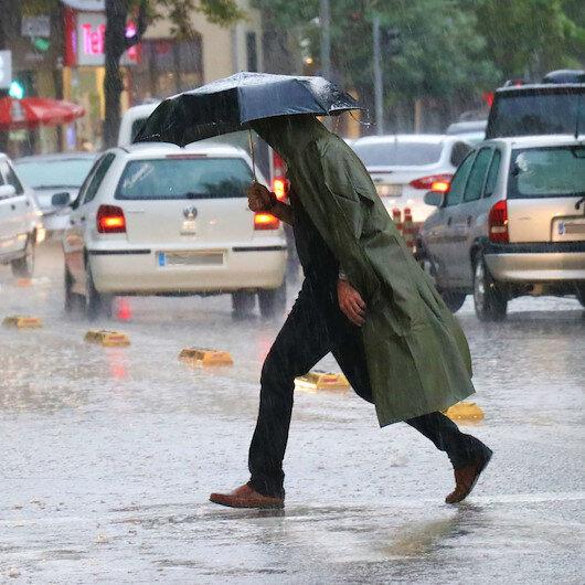 Meteorolojiden Marmara'ya sağanak uyarısı