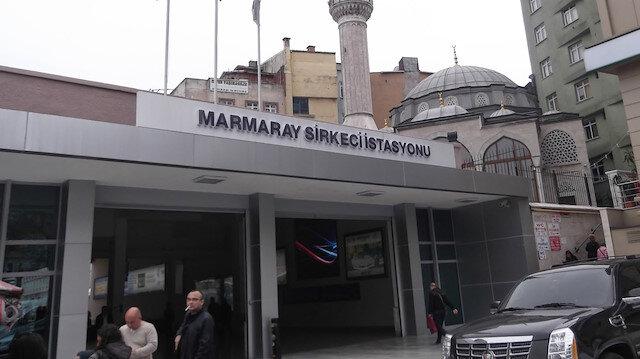 İddialaşan arkadaşlar Marmaray'ın üstüne çıktı elektrik akımına kapıldı