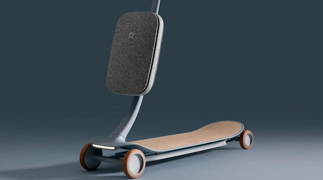 Pal, İngiltere merkezli bir tasarım ajansı olan Layer ve Çinli elektrikli araç üreticisi Nio'nun ortak çalışması.