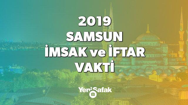 Diyanet tarafından 2019 Samsun imsakiyesi açıklandı.