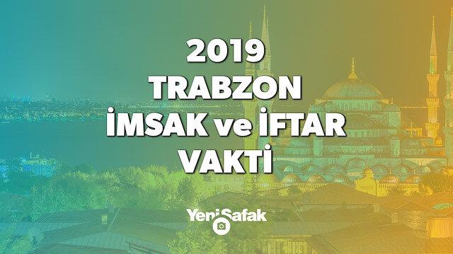 2019 Trabzon imsakiyesini, iftar vaktini ve sahur saatini sizler için hazırladık.