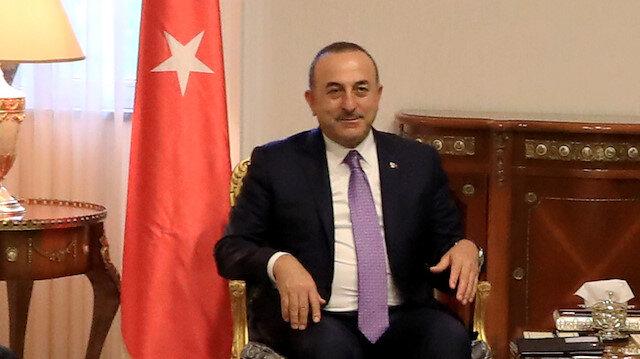 Turkey's FM Mevlut Çavuşoğlu in Erbil