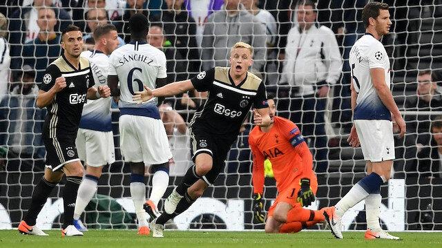 Tottenham-Ajax: 0-1