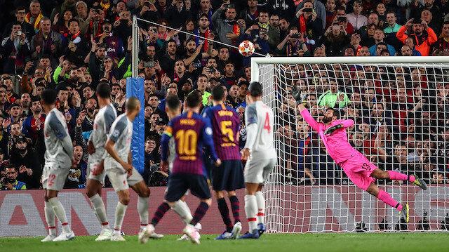 Barcelona 3-0 Liverpool (Maç özeti ve goller)