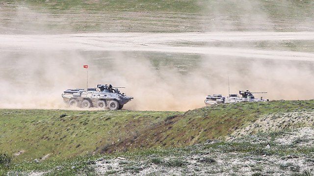 Joint military exercise of Turkey and Azarbaijan