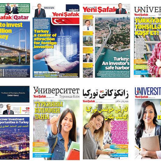 Yurtdışı yayınlarımızla  ses getiriyoruz