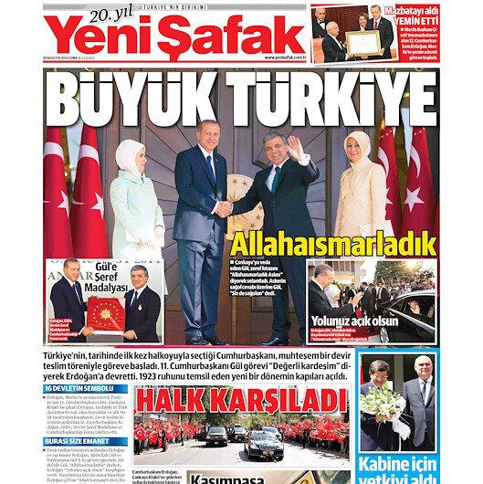 Yeni Türkiye'nin cumhurbaşkanı