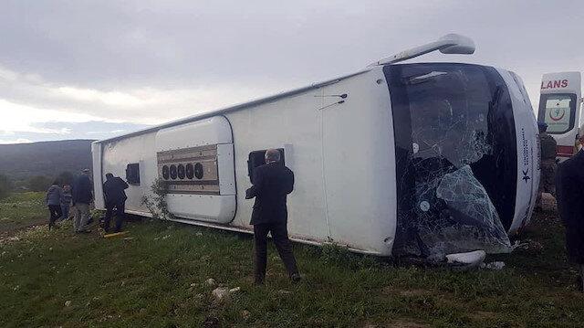 Kaza sonrası bölgeye çok sayıda ambulans sevk edildi
