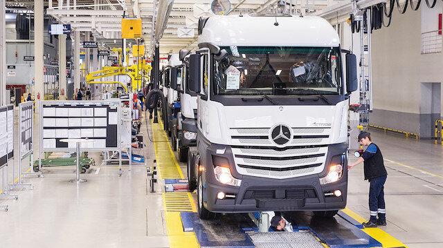 Mercedes fabrikası