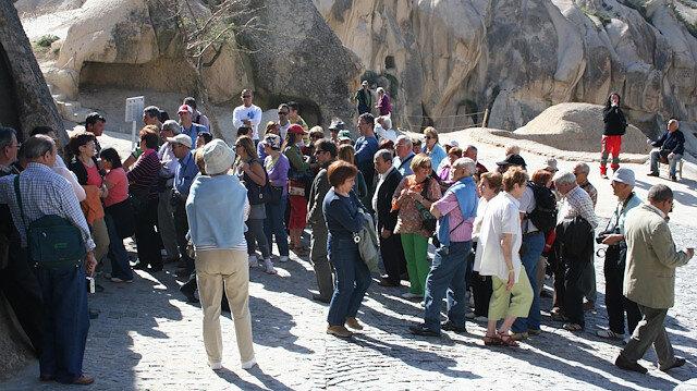 Kapadokya'da bayram tatili hareketliliği