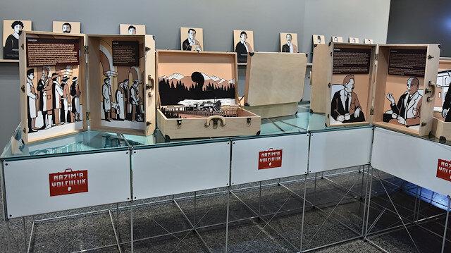 Nâzım'a Yolculuk sergisi, Türk şiirinin büyük isminin 63 yılılk yaşamını yansıtıyor.