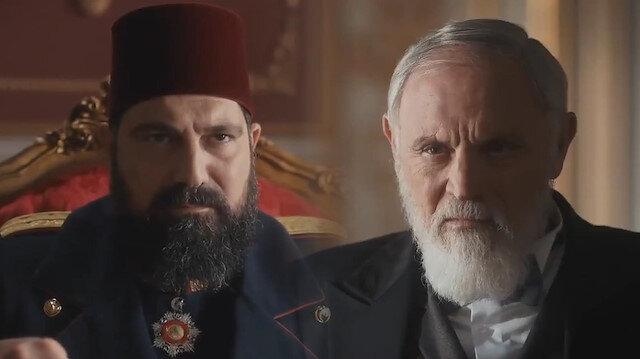 Abdülhamidin Kudüsün önemini anlattığı sahne ekrana kilitledi