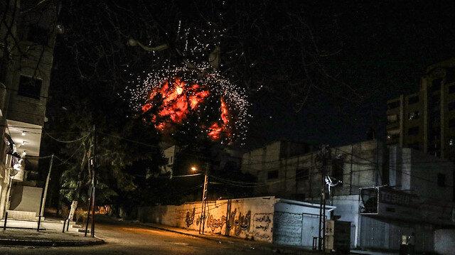 İsrail AA binasını vurdu