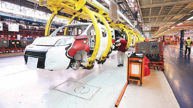 Otomotiv endüstrisi geçen ay 2 milyar 616 milyon 597 bin dolarlık ihracata imza attı.