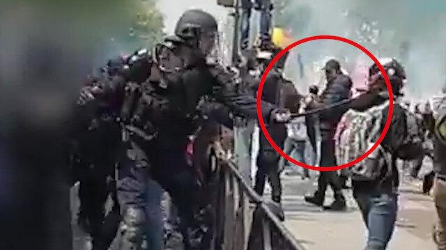 Fransız polisinin RİA Novosti muhabirini darp görüntüleri yayınlandı