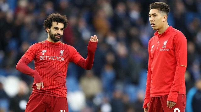 Salah bu sezon Liverpool formasıyla 26, Firmino ise 16 gol attı.