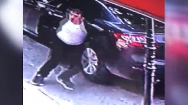 Otomobilden 15 bin lirayı çalan hırsızlar böyle kaçtı