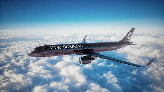 Dünyanın en lüks uçağı: Kişi başı 840 bin TL