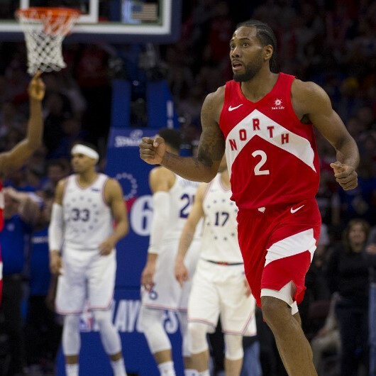 NBA Playoffs: Raptors beat 76ers to even series at 2-2