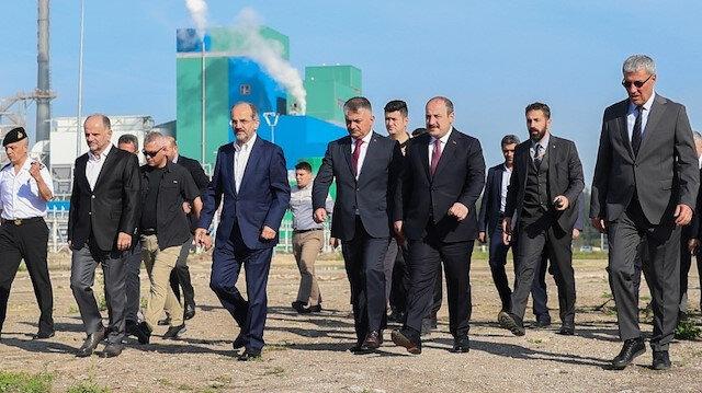 Balıkesir SEKA Fabrikası 19 yıl sonra yeniden üretime başladı