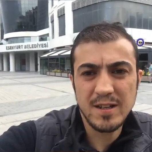Esenyurt Belediyesinde işten çıkartılan fotoğrafçı isyan etti