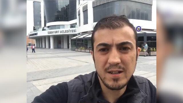 Esenyurt Belediyesi'nde işten çıkartılan fotoğrafçı isyan etti