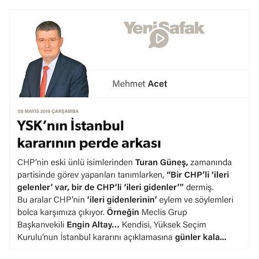 YSK'nın İstanbul kararının perde arkası