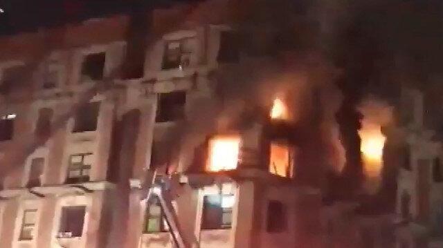 New Yorkta çıkan yangında 4ü çocuk 6 kişi öldü