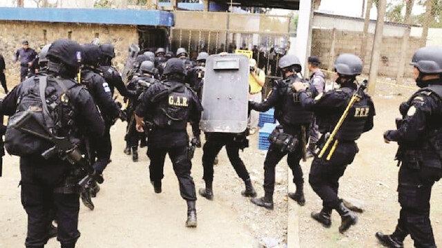 Guatemala'da cezaevinde isyan