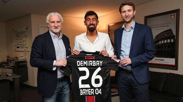 Kerem Demirbay Leverkusen'de