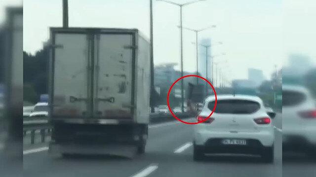 Trafikte baltalı saldırı cezasız kalmadı