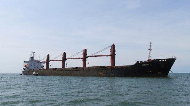 Kuzey Kore'ye ait geminin ABD kara sularına yaklaşması üzerine el konuldu
